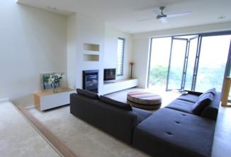 custom joinery lounge room entertainment unit