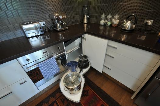 custom kitchen corner cupboard