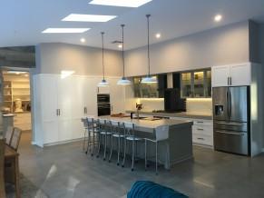custom kitchen open plan design