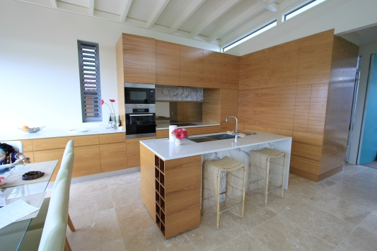 custom kitchen timber
